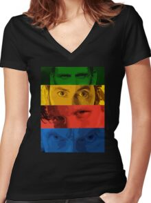 4 Doctors Women's Fitted V-Neck T-Shirt