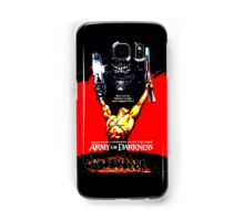 Army Of Darkness 80's Red and Black Design Samsung Galaxy Case/Skin