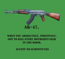 AK-47 accept no substitutes by Tim Topping