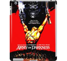 Army Of Darkness 80's Red and Black Design iPad Case/Skin