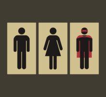 Bathroom Doors by Martin Madsen