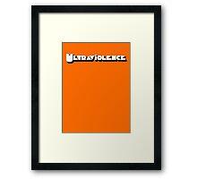 Ultraviolence Framed Print
