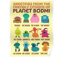 Greetings From Planet Bodmi Poster