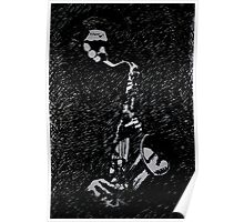 Moody Sax Poster