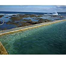 Merewether Baths Calling Photographic Print