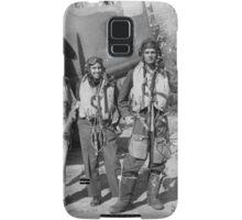 Baltimore Bomber Crew, Garth, Max, Mick and Jack. 454 Squadron, RAAF, Italy 1944 Samsung Galaxy Case/Skin