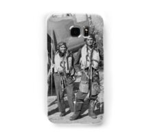 Baltimore Bomber Crew, Garth, Max, Mick and Jack. 454 Squadron, RAAF, Italy 1944 Samsung Galaxy Case/Skin