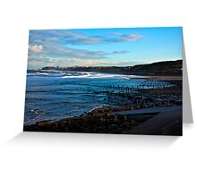 Across Sandsend Wyke Greeting Card