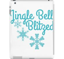 Jingle bell blitzed  iPad Case/Skin