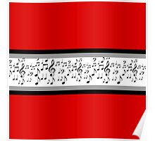 Musical Red Spiritwear - Thick Poster