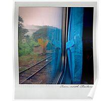 Curtain 1 Polaroïd Poster