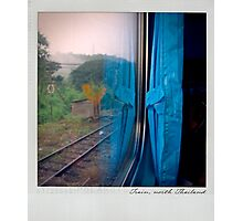 Curtain 1 Polaroïd Photographic Print