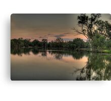 River Dance - Murray River, NSW Australia - The HDR Experience Canvas Print