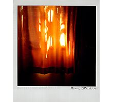 Curtain 2 Polaroïd Photographic Print