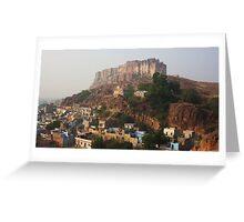 Jodhpur Fort, Rajasthan, India Greeting Card