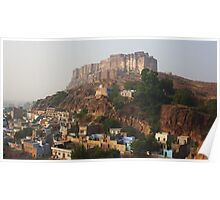 Jodhpur Fort, Rajasthan, India Poster