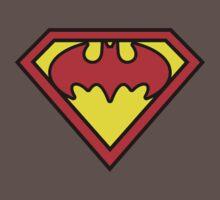 Superman Batman Kids Clothes