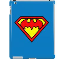 Superman Batman iPad Case/Skin