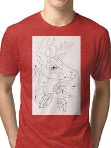 traditional dear Tri-blend T-Shirt