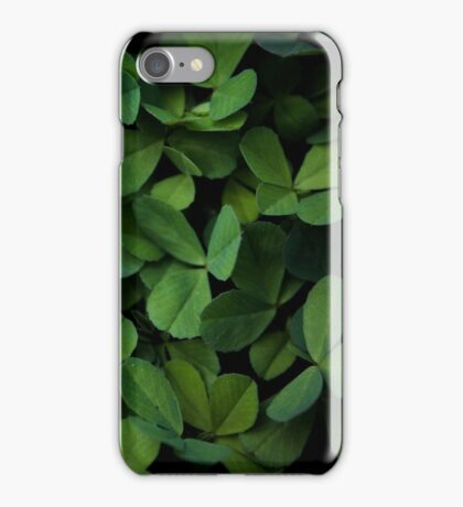 clover. iPhone Case/Skin