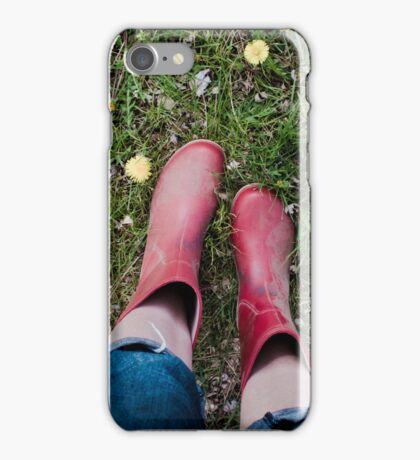 galoshes. iPhone Case/Skin