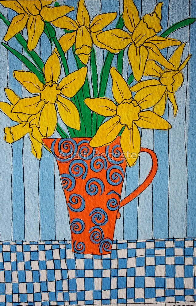 Daffodils by Adam Regester