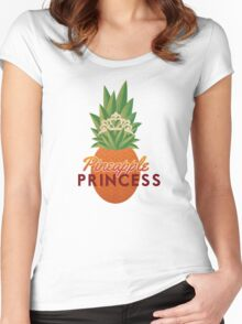 Pineapple Princess Women's Fitted Scoop T-Shirt