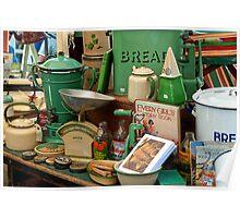 Vintage Kitchenware Poster