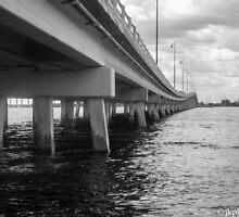 Punta Gorda Bridge by John  Kapusta