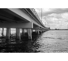 Punta Gorda Bridge Photographic Print