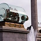 Nelson's Ship (in a bottle) in Trafalgar Square by SpencerCopping