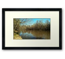 The River North Framed Print