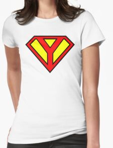 Super Y Womens Fitted T-Shirt