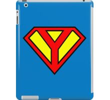 Super Y iPad Case/Skin
