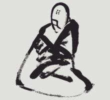 Buddhist Monk Meditates by Dentanarts