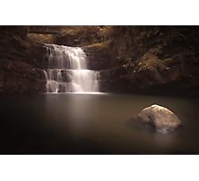 Waterfall country Wales Photographic Print
