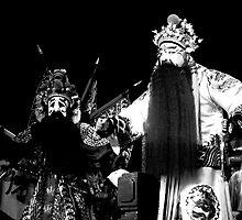 Peking Opera (B&W) by Valerie Rosen