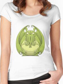 Totoro Cthulhu Women's Fitted Scoop T-Shirt