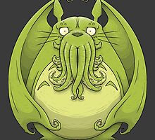 Totoro Cthulhu by crabro