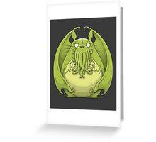 Totoro Cthulhu Greeting Card