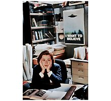 dana scully - x files Photographic Print