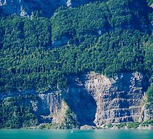 Lake Brienz, Switzerland by Melissa Fiene