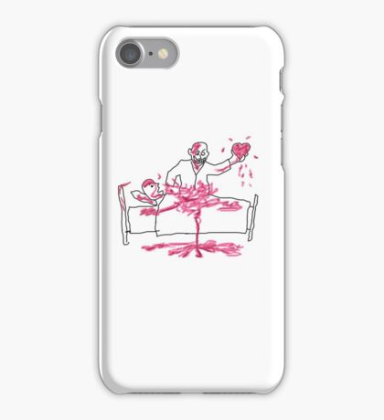 Giles' Doodle from Hush [Buffy the Vampire Slayer] iPhone Case/Skin