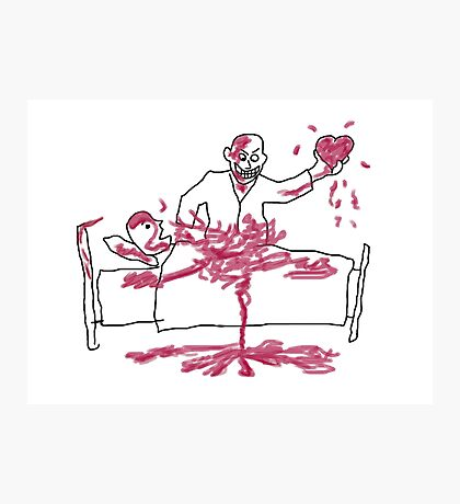 Giles' Doodle from Hush [Buffy the Vampire Slayer] Photographic Print