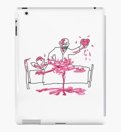 Giles' Doodle from Hush [Buffy the Vampire Slayer] iPad Case/Skin