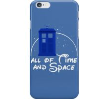 All of time and space #blue iPhone Case/Skin
