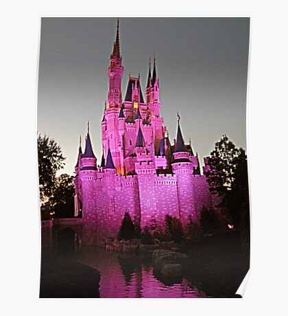 Castle Magic at Twilight  Poster