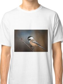 Black Capped Chickadee Classic T-Shirt