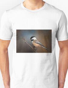 Black Capped Chickadee T-Shirt