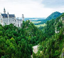 Neuschwanstein Castle  by Melissa Fiene